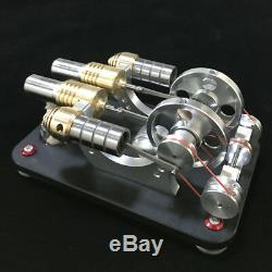 Hot Air Stirling Engine Model Toy Micro DIY Electricity Motor Generator Engine