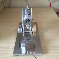Hot Air Stirling Engine Model Toy Micro Power Generator Alpha Engine Motor Toy