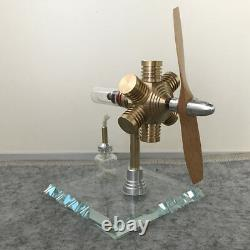 Innovative Hot Air Stirling Engine Model Toy Science Physics Education Motor Toy