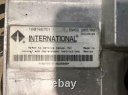 International DT466E Diesel Engine 7.6L ECM ECU Computer Tested Part# 1807457C1
