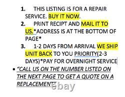 International Navistar Ecm Repair 1807468 1807457 1833341 1807476 1833558