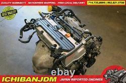 JDM HONDA ACCORD 2.4L MOTOR iVTEC ENGINE K24A BASE MODEL 2003-2007 LOW MILEAGE