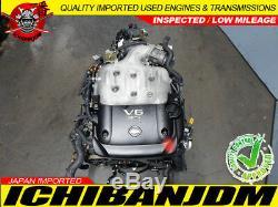 Jdm Nissan 350z Engine V6 3.5l Motor 2003 2004 2005 Model Z33 Vq35 Vq35de G35