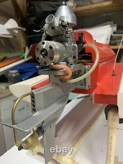 K&B 7.5cc 45 R/C OUTBOARD NITRO MARINE MODEL BOAT ENGINE MOTOR