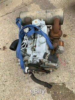 Kubota Diesel Engine Model D722 Motor 3 Cylinder