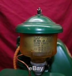 Lauson Model #555-111 With Safe T Vue Oil Bath Breather Gas Engine Motor