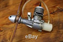 M. E. SNIPE 1.5cc Diesel Model Aircraft Engine Motor 1960's Vintage Rare Moore