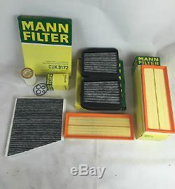 Mann-filter Filter Set Ölfilter Aktivkohle Luftfilter Mercedes W211 E500 225 Kw
