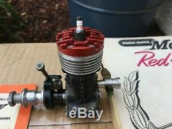 McCoy Red Head 29 Black Anodized Case Model Airplane Engine Motor