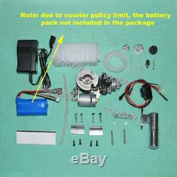 Mini Methanol Engine Model Kit Micro Motor Generator Engine Toy DIY Assembly Kit