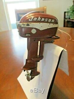 Mini Miniature K&o Johnson Seahorse Outboard Motor Toy Boat Model Engine Japan