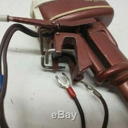 Miniature Vintage Johnson Seahorse Outboard Motor Toy Boat Model Engine