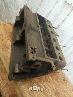 Model A Ford bare engine block motor 3.88 bore clean July 1928