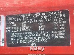 Motor Engine Gasoline Model 2.0L VIN 5 8th Digit Fits 17-19 SOUL 161617