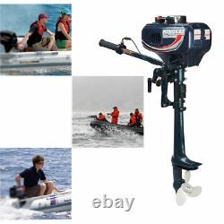 Motor para lancha bote barco pequeña de 3.5HP 2 Stroke Outboard Boat Engine
