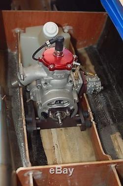 Motorhalter Blata Motor RC Modellbau 40cc Engine Mount 39cc Powerboot MHZ 060407