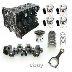 NEU Motorblock Set 5 Mercedes 2.2 CDI OM651 E-/S-Klasse SLK GLK Sprinter engine