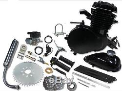 New 2014 ModelMUCH FASTERBlack 66/80cc Bicycle Engine Kit, Motorized Bicycle