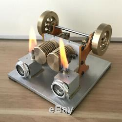 New Flame Eater Fire Eater Flame Licker Vacuum Engine Generator Model Motor Toy