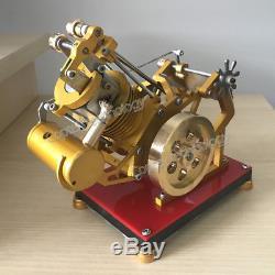 New Hot Air Stirling Engine Model Toy Mini Amazing SOHC Engine Motor Toy AWESOME