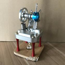 New Hot Air Stirling Engine Model Toy Mini Vertical Cylinder Generator Motor Toy