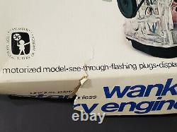 New Old Stock VTG WANKEL Mazda Rotary Engine ENTEX Motorized Model Kit Japan