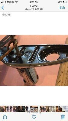 Nos 1941 Chevrolet Deluxe Master Gm Rear License Plate Bracket 37 38 39 40 41 42
