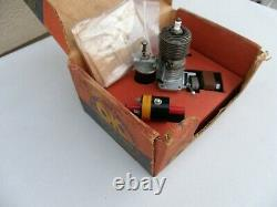 OK MOTOR 49 Deluxe Ignition Model Airplane Engine Coil, Condenser, Box, Instruction