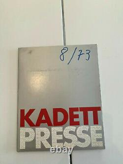 ORIGINAL OPEL Broschüre + Werksfotos, Pressemappe Vorstellung Kadett C 1. Serie