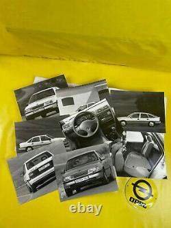 ORIGINAL OPEL Broschüre + Werksfotos, Vectra A Modellposter, Turbo, 16V, GSi