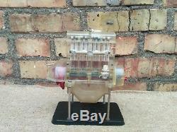 Old Rare Vintage Metal + Plastic Model Engine Motor Working USSR ZID