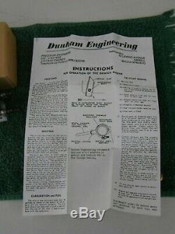 Orwick 29 Ignition Model Airplane Engine with Motor Mounts NIB Dunham FREE ShipN48