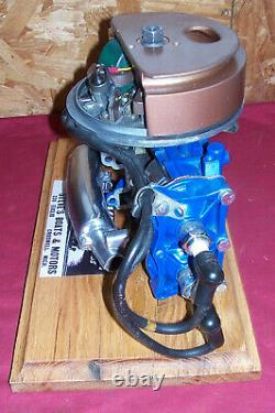 RARE Old Cutaway Evinrude 3 HP Factory Outboard Motor Engine Display Model Boat