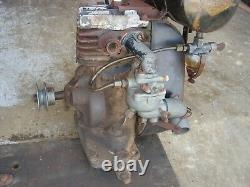 Rare Vintage Briggs & Stratton Engine Gas Motor Model N Lot #1