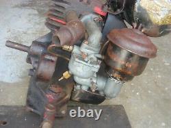 Rare Vintage Briggs & Stratton Engine Gas Motor Model N Lot #2