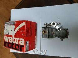 Rarität Webra T4-60 4-Takt Motor, Moteur, Engine R/C Model Flugzeuge mit OVP