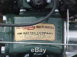 Restored 1931 Maytag Model 11-111 Engine Motor Hit Miss Wringer Washer VINTAGE