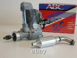 SC 120 Four Stroke Glow Engine Brand New In Box Model Aircraft Motor OFFERS