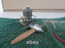 SUPER HURRICANE 24 IGNITION MODEL AIRPLANE ENGINE with Coil, Condenser, Motor Mounts
