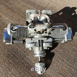 Saito FA-90T Twin Four Stroke R/C Glow Engine Model Airplane Motor