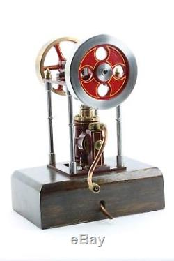 Steam Engine Model, double flywheels Oscillating Cylinder