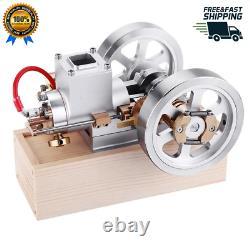 Stirling Engine Metal Hit & Miss Gas Combustion Gasoline Cylinder Motor Model