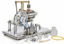 Sunnytech Hot Air Stirling Engine Motor Model Educational Toy Electricity Gen