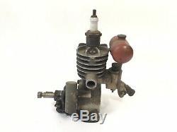 Super Rare 1930s Royer Motors Pasadena Model Airplane Engine B263