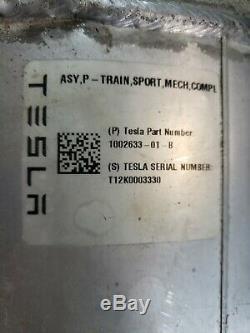 TESLA MODEL S P90D REAR DRIVE UNIT ENGINE MOTOR Performance Sport 1002633-01-B