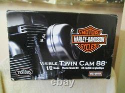 TESTORS 1/2 Scale Model Engine Kit Harley Davidson Twin Cam 88 Motor