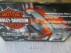 TESTORS 1/2 Scale Model Engine Kit Harley Davidson Twin Cam 88 Motor (NEW)