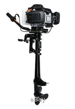 Used T4.0 HP Four Stroke Outboard Motor Air Cooling Boat Engine Improved Model