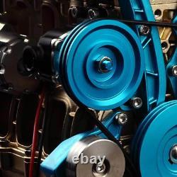 V4 4-Cylinder Stirling Engine Motor Car DIY Model Kit Educational Toy Gift Xmas