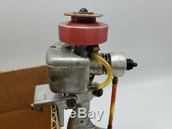 Vintage 1950s Atwood. 049 Toy Boat Model Outboard Motor Marine Engine Untested
